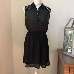 One Clothing sheer black dress size M